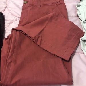 Banana Republic girlfriend fit chinos